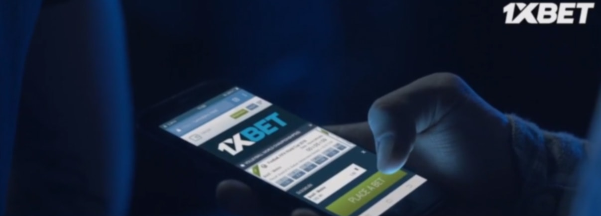 1xBet mobile phone